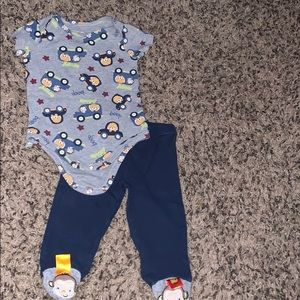 6 month monkey outfit